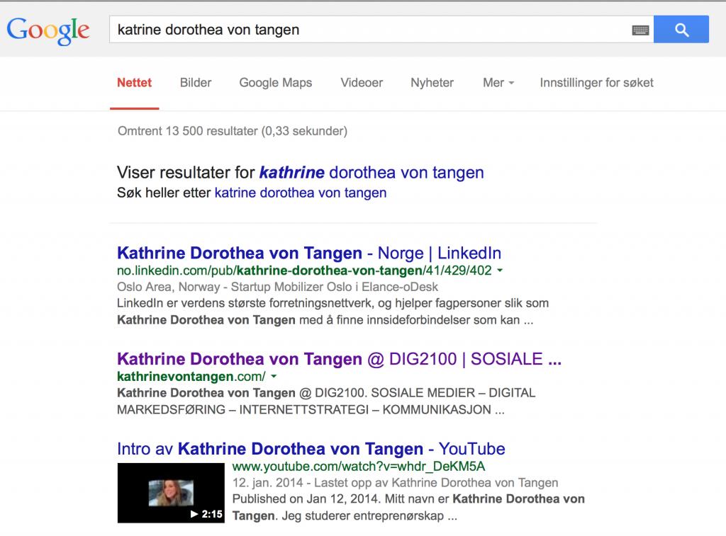 Katrine Von Tangen